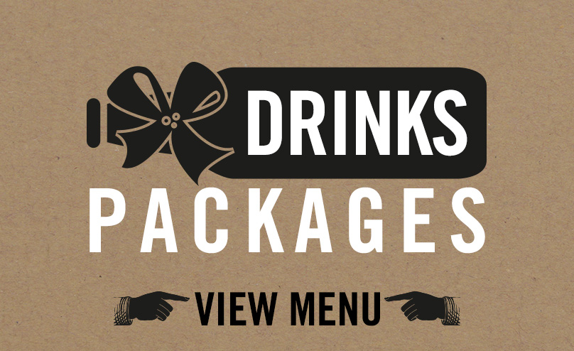Drinks packages available at The Bank