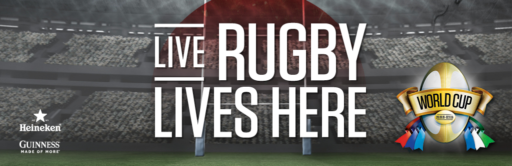 Watch live rugby at The Bank