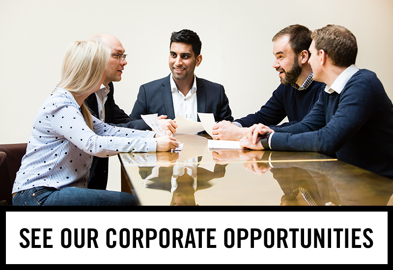 Corporate opportunities at The Bank